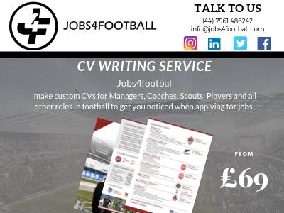 Football CV Writing Service